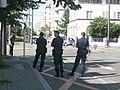 Agents police nationale en fonction.Strasbourg.JPG