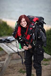 Agnes Milowka Australian cave diver