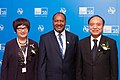 Aihua Jiang, Charlot Salwai Tabimasmas, Houlin Zhao, ITU Telecom World 2016.jpg