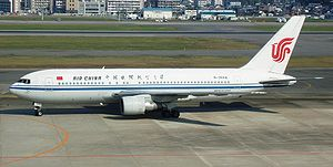 Air China Boeing 767-200