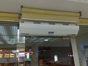 Close the Door campaign - Air curtain