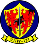 Airborne Early Warning Squadron 121 (US Navy) insignia 2015.png
