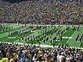 Akron vs. Michigan football 2013 05 (Michigan band).jpg