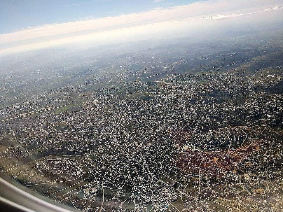 Al-Bireh Aerial photo