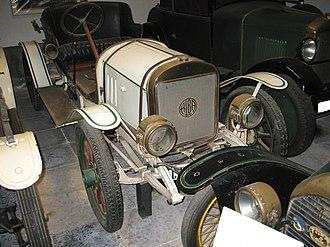 Alba (1913 automobile) - 1915 Alba