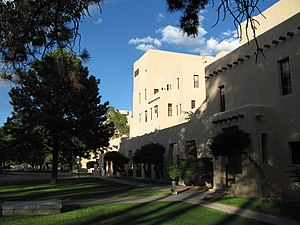 National Register of Historic Places listings in Bernalillo County, New Mexico - Image: Albuquerque Veterans Administration Medical Center Building 1, Albuquerque NM