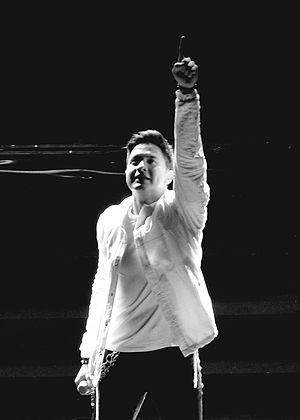 Alden Richards - Richards in his Upsurge Concert in 2017