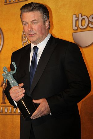 Alec Baldwin at the Screen Actors Guild Awards...