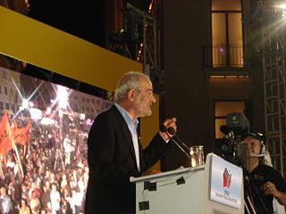 Alekos Alavanos Greek politician