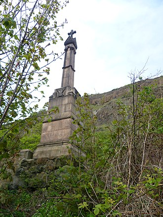 Alexander III of Scotland - Alexander III Monument at Kinghorn