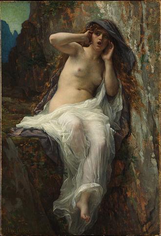 Echo (mythology) - Image: Alexandre Cabanel Echo