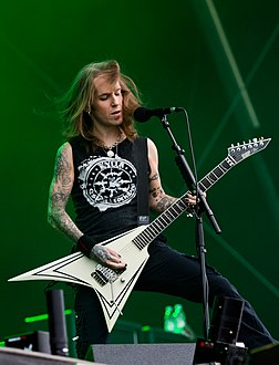 Alexi Laiho performing with Children of Bodom at the Rockharz Open Air 2016 -- 9 July 2016.jpg