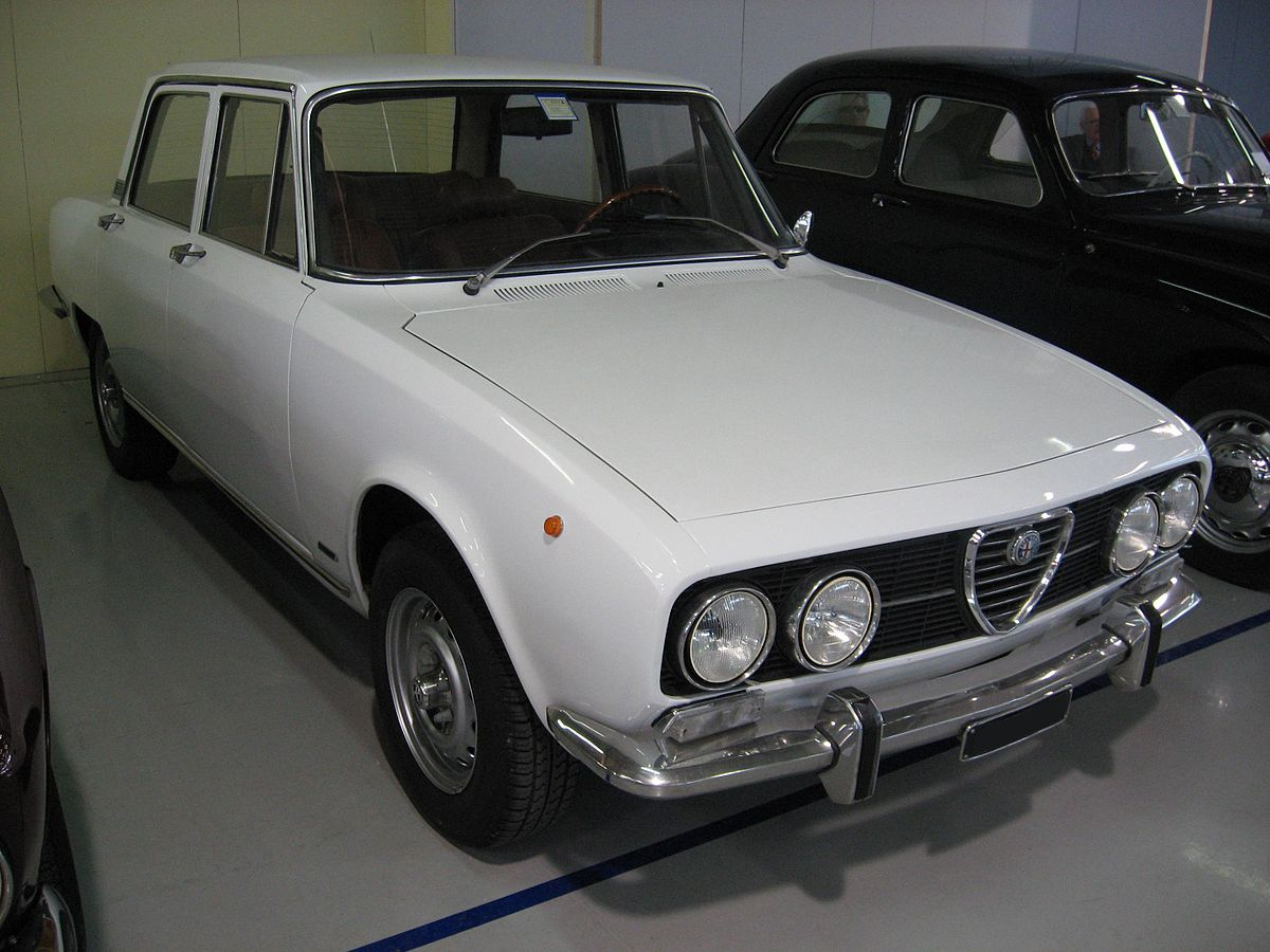 alfa romeo 1750 wikipedia wolna encyklopedia. Black Bedroom Furniture Sets. Home Design Ideas