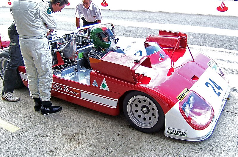 File:Alfa Romeo 33-3 Silverstone 2007.jpg