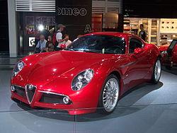Alfa Romeo 8C Competizione – Wikipédia
