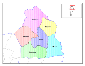 Communes of Benin - Communes of Alibori.