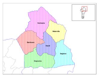Communes of Benin - Communes of Alibori.