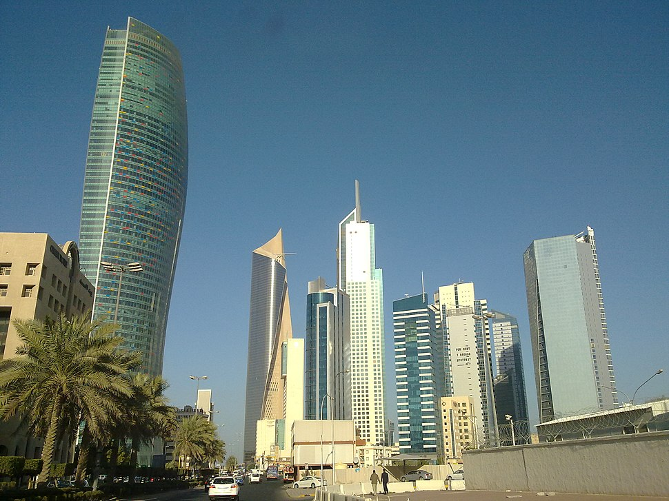 All major buildings in kuwait in one shot by irvin calicut