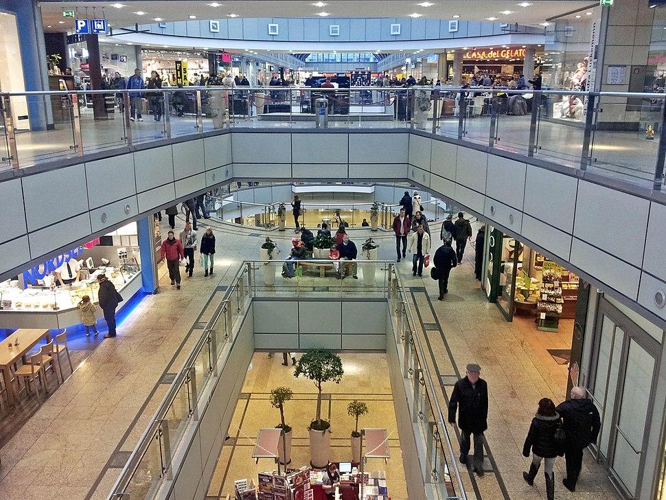 Allee-Center Magdeburg Innen