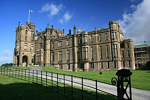 The Secret Garden (1993 film) - Exterior of Allerton Castle in Yorkshire, northern England