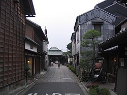 Traditional alley in Kawagoe