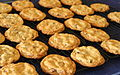 Almond chocolate chip cookies, June 2009.jpg