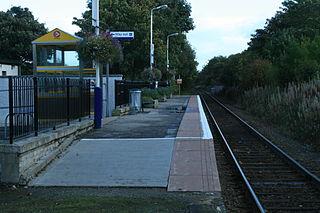 Alness railway station Railway station in Highland, Scotland
