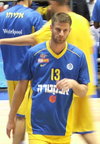 Alon Stein - Stein while playing with Maccabi Tel Aviv