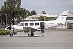 Altitude Flight Operations (VH-HVA) Embraer EMB-820C Navajo at Wagga Wagga Airport.jpg