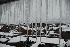 2010 in Europe - Heavy snowfall in Alton, England