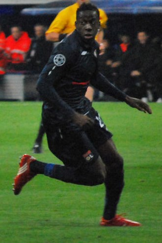 Aly Cissokho - Cissokho playing for Lyon in 2010