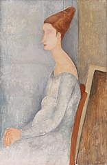 Portrait of Jeanne Hébuterne (Portrait de Jeanne Hébuterne)
