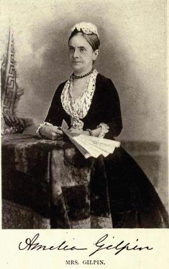 Thomas Chandler Haliburton - Daughter Amelia Gilpin by William Notman