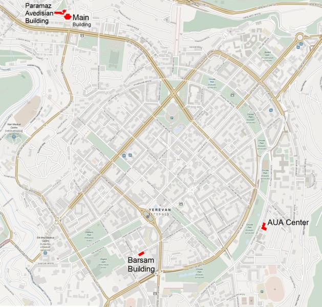 FileAmerican University Of Armenia Mappng Wikimedia Commons - American university map