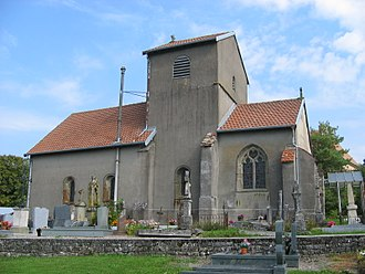 Ameuvelle - The church in Ameuvelle