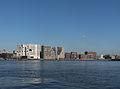 Amsterdam, kantoorgebouwen bij centraal station vanaf Noordzijde foto1 2014-05-25 09.01.jpg