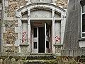 An entrance to Sanatorium du Basil, Stoumont, Belgium (DSCF3488).jpg