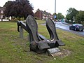 Anchor Statue, Brompton - geograph.org.uk - 518982.jpg