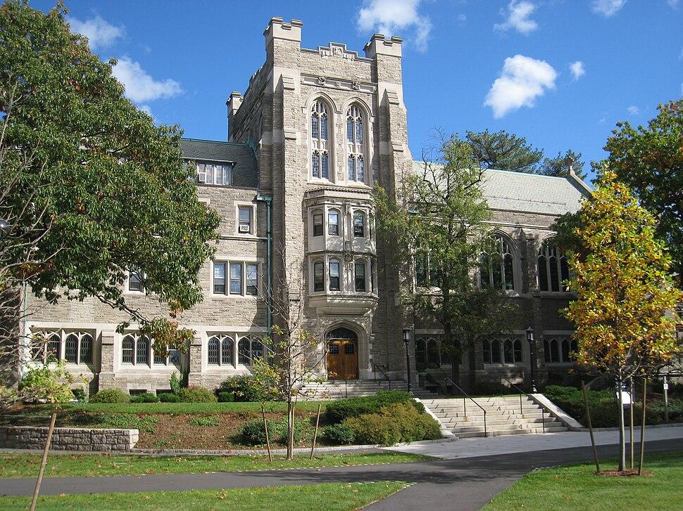 Andover Hall, Harvard Divinity School - general view