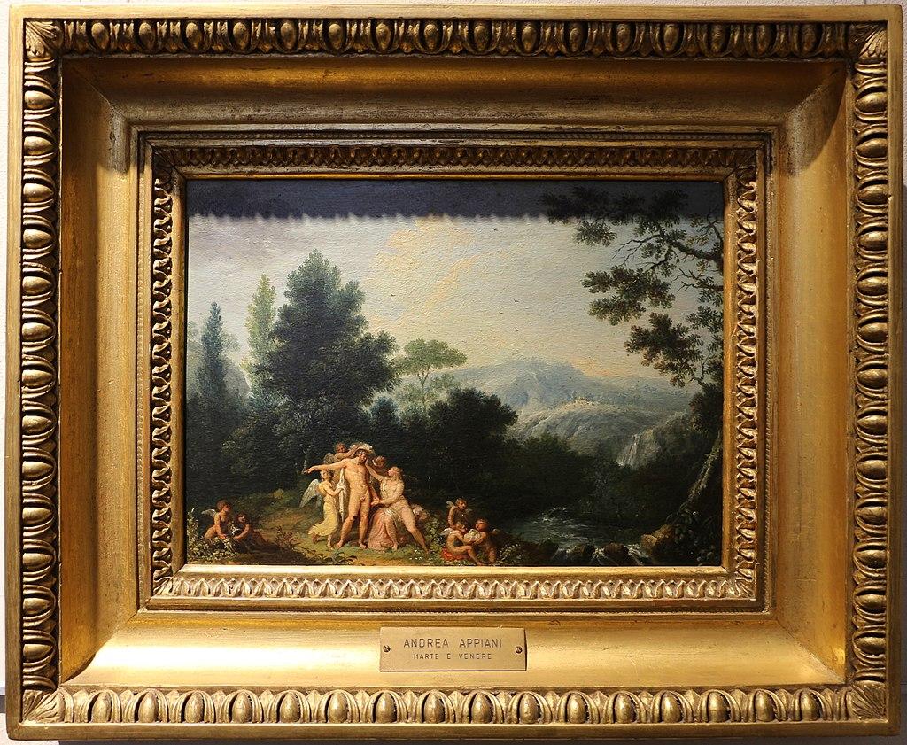 Андреа Аппиани, Marte E Venere, 1801 г. circa.jpg