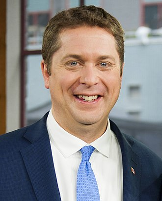 Official Opposition Shadow Cabinet of the 42nd Parliament of Canada - Image: Andrew Scheer June 2017