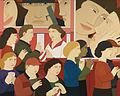 "Andrew Stevovich oil painting, Popcorn, 2008, 40"" x 50"".jpg"