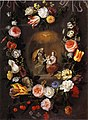 Andries Daniels - Holy Family with S.t. Anne in a Garland of Flowers.jpg