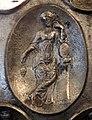 Anfora di baratti, argento, 390 circa, medaglioni, 03 giunone (forse).JPG