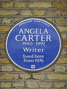 Angela Carter 1940-1992 Writer lived here from 1976.jpg