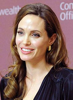 Angelina Jolie at UN Initiative