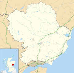 Auchmithie is located in Angus