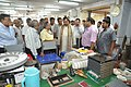 Anil Shrikrishna Manekar Explaining Exhibit Creating Process To Mahesh Sharma - CRTL Workshop - NCSM - Kolkata 2017-07-11 3458.JPG