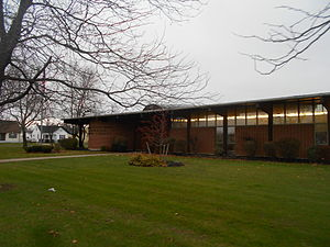 Cheektowaga (town), New York - The Anna M. Reinstein Public Library on NY 240 in Cheektowaga