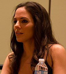 Anna Silk, Canadian-born actress.